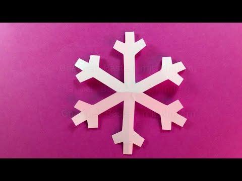 Paper Snowflake ❄DIY Christmas Decor
