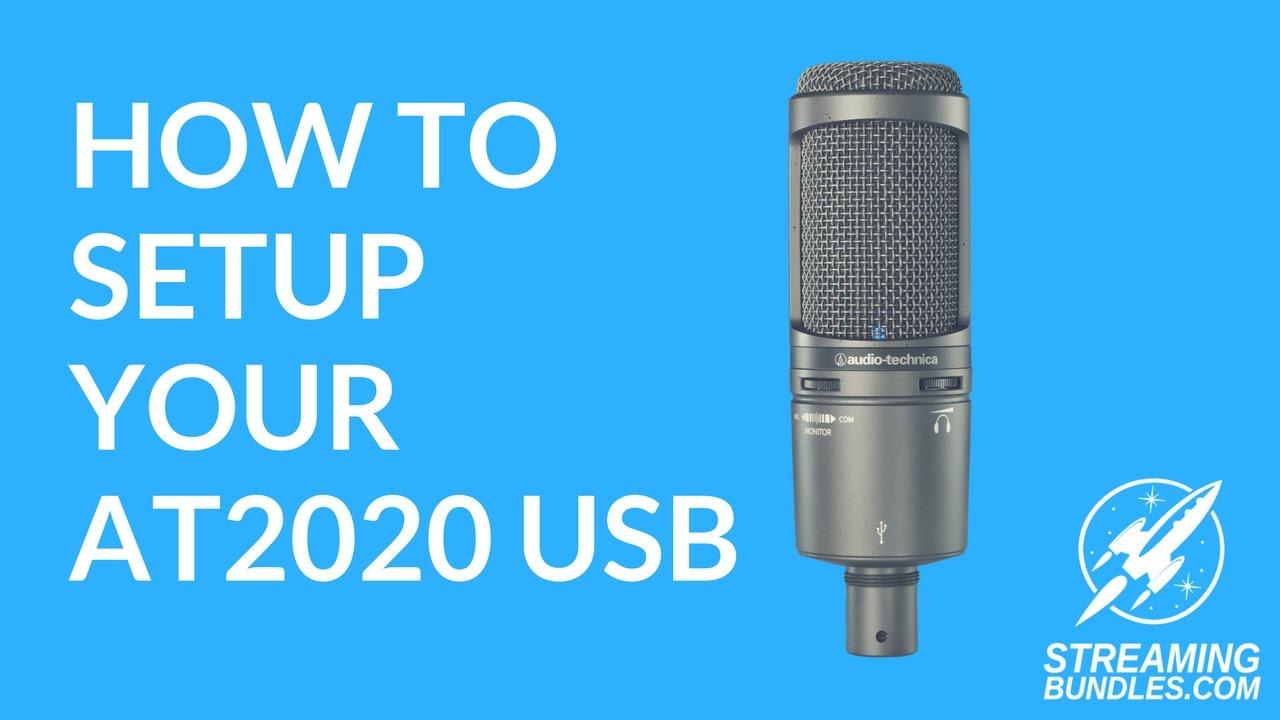 AUDIO TECHNICA AT2020 USB ASIO DRIVER DOWNLOAD