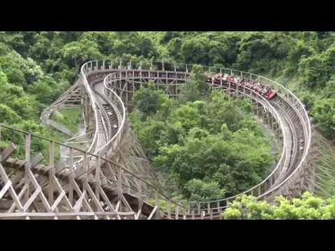 Knight Valley Theme Park China - Wood Coaster