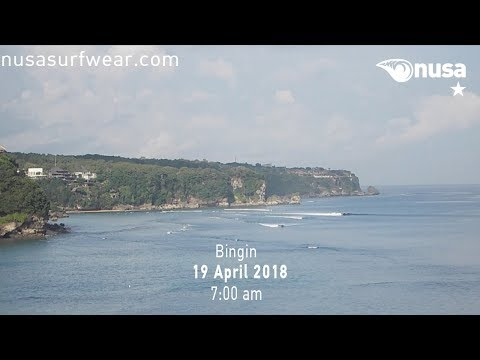 19 - 04 - 2018 /✰ / NUSA's Daily Surf Video Report from the Bukit, Bali.