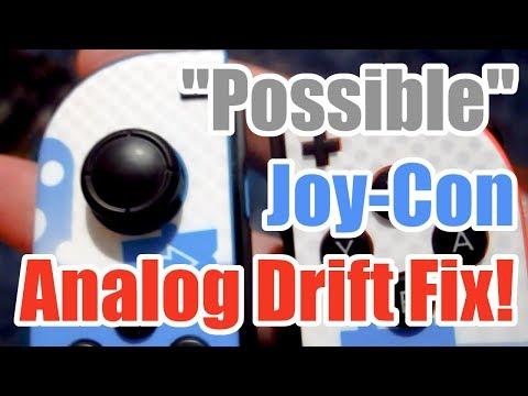 """Possible"" Nintendo Switch Joy-Con Analog Stick Drift Fix (Read the description too)"