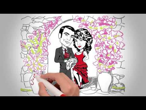 Приглашения на свадьбу, купить от Presents Wedding в СПб