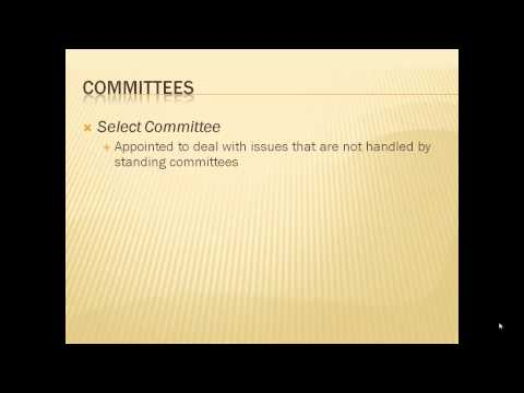 Congress Committees