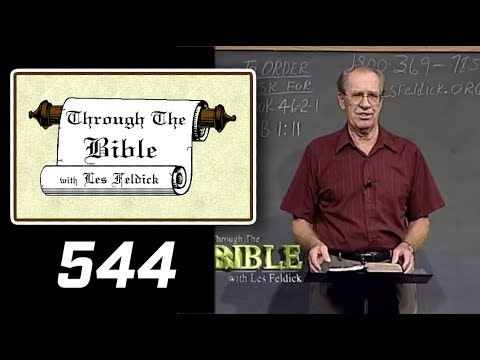[ 544 ] Les Feldick [ Book 46 - Lesson 1 - Part 4 ] Hebrews 1:1-10 |b
