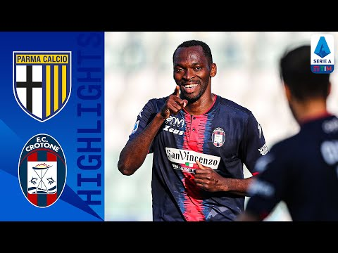 Parma Crotone Goals And Highlights