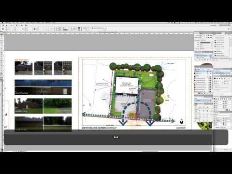 CHBW Healing Garden Site Study: Presentation Board