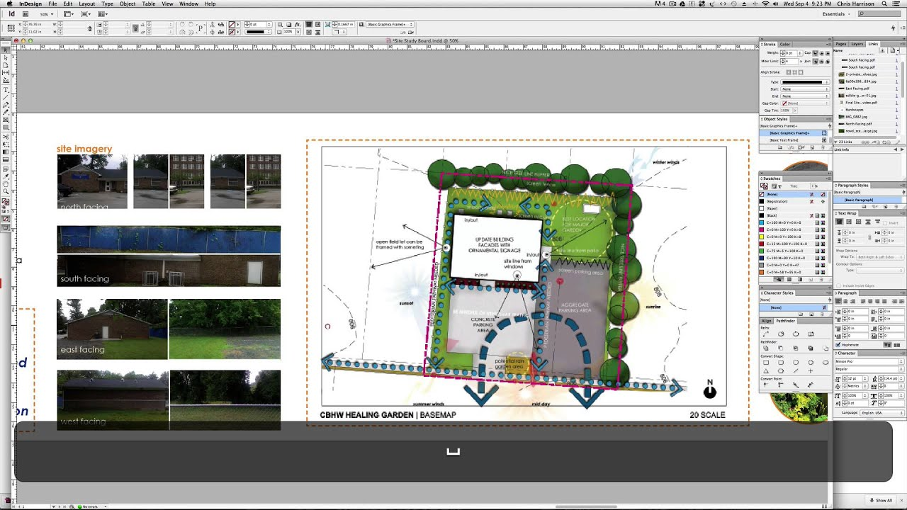 CHBW Healing Garden Site Study: Presentation Board - YouTube
