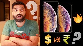 Gambar cover iPhone Xs, iPhone Xs Max, iPhone Xr - Crazy Price in India - BEFORE YOU BUY🔥🔥🔥