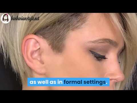 Undercut Hairstyles for the Short Hair Girls