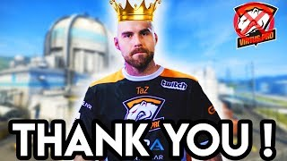 CS:GO - THANK you TAZ ! (Best Moments) TaZ on VP reserves