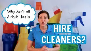 Gambar cover Why Don't All Airbnb Hosts Hire Cleaners? House Cleaning FAQ