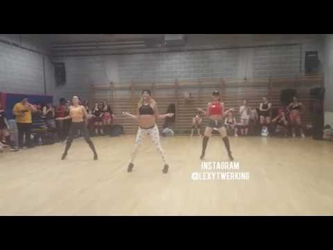 DJ Battle Ft. Lexy Panterra - Twerk Lesson (Dance Routine)