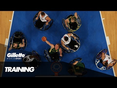 Thumbnail: Wheelchair Basketball Training with Team Canada | Gillette World Sport
