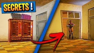 4 SECRETS ENDROITS on Fortnite: Battle Royale! (NEW)
