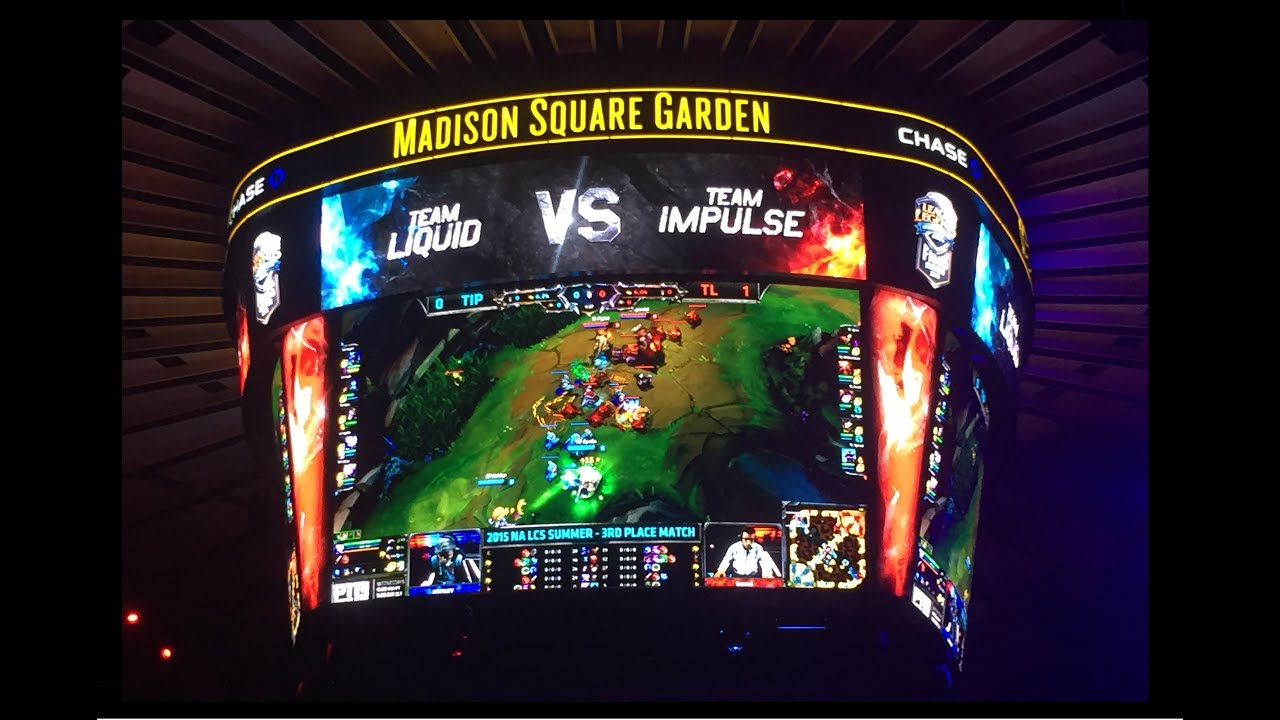 Attractive League Of Legends At Madison Square Garden   YouTube Nice Ideas