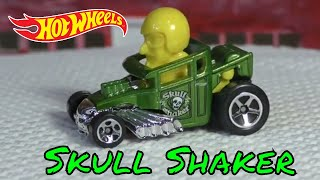2018 Hot Wheels K Case #218 - Skull Shaker - New Model