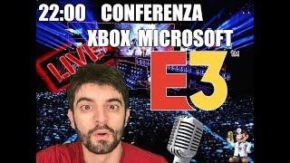 🔴LIVE🔴 E3 2019 CONFERENZA XBOX MICROSOFT!