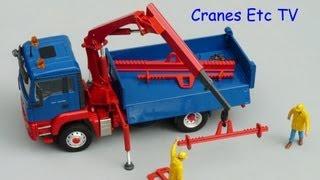 Conrad MAN TGS Tipper + Palfinger by Cranes Etc TV