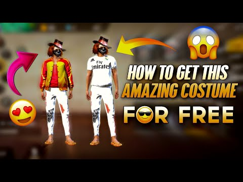 FREE COSTUME DRESS IN FREE FIRE - HOW TO GET THIS AMAZING COSTUME FOR FREE - GARENA FREE FIRE - 동영상