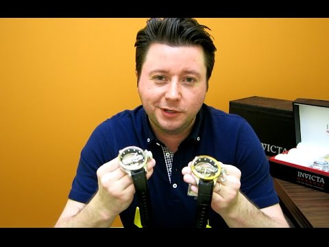 Invicta GHOST BRIDGE Russian Diver 14212 – 14213 Watch Review
