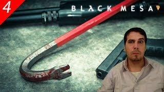 Black Mesa #4 | Cráter, monstruo planta enorme de 3 cabezas | Gameplay español por Belrion