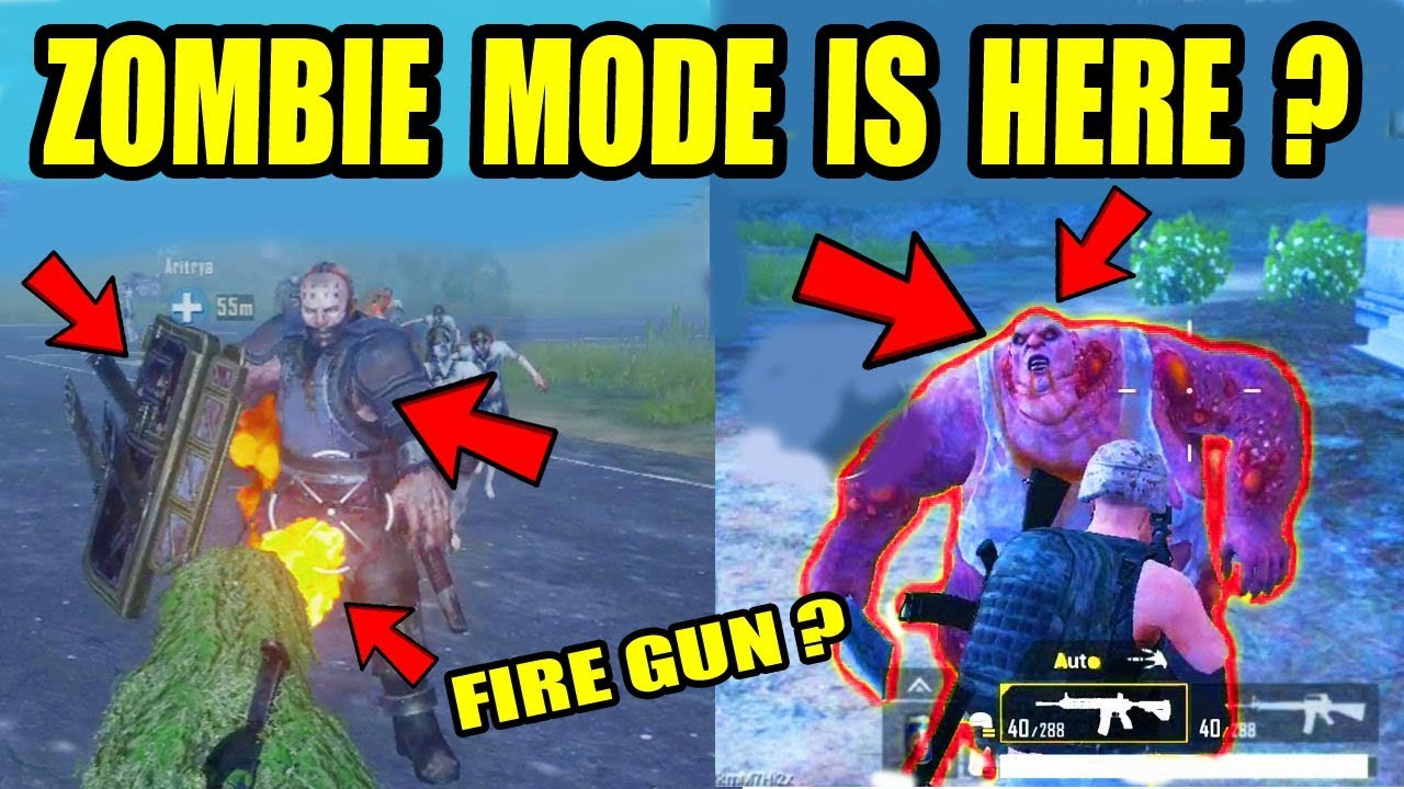 PUBG Mobile ZOMBIE Mode FUll HD Gameplay ! NEW EVENT ! HOW