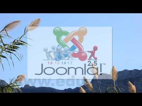 Как обновить Joomla 1.5 до Joomla 2.5. Видеокурс. Введение