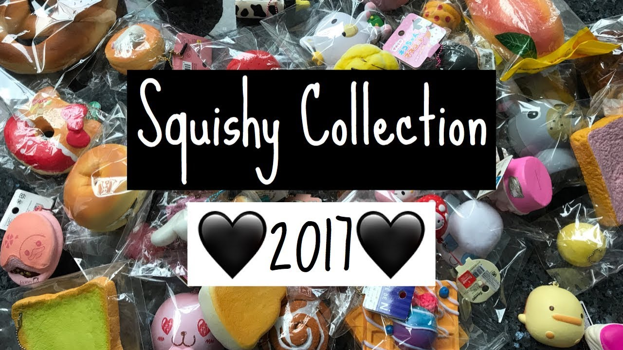 Squishy Collection 2017 : SQUISHY COLLECTION 2017 CelineCuhady - YouTube