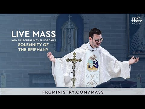 Live Mass on the Feast of the Epiphany with Fr. Rob Galea 03/01/2021