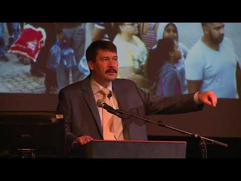 Dr  Áder János Köztársasági Elnök klímaváltozással kapcsolatos előadása Kapuváron