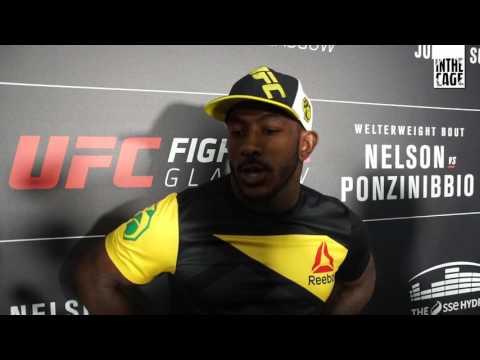 Khalil Rountree po UFC Glasgow