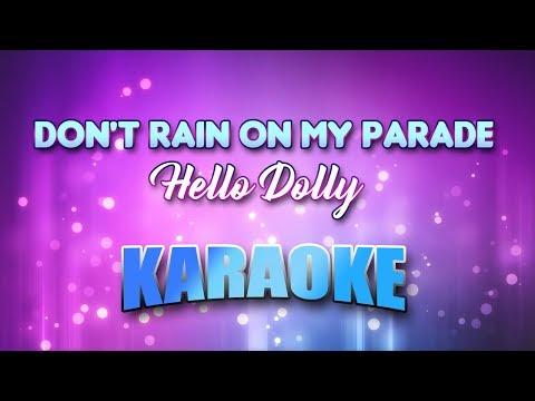 Funny Girl - Don't Rain On My Parade (Karaoke version with Lyrics)