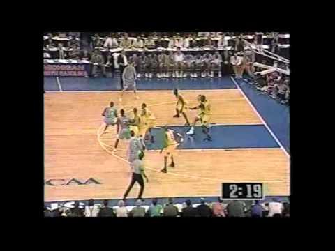 College Basketball NCAA Championship 1993 Michigan vs. North Carolina