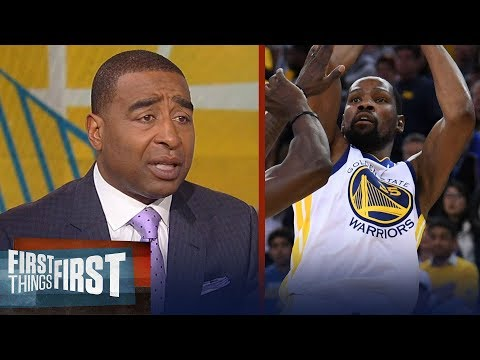 Nick and Cris react to the Warriors eliminating the Pelicans in Game 5 | NBA| FIRST THINGS FIRST