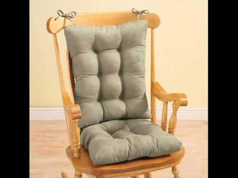 Chair Cushion u0026 Rocking Chair Pads & Chair Cushion u0026 Rocking Chair Pads - YouTube