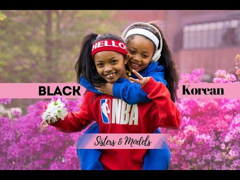[한글자막/Eng Sub] Half-Black Half-Korean Child Models in Korea 흑인혼혈 아이 모델 칼라 & 벨라