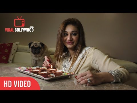 Shefali Jariwala Celebrating Diwali With Media | Happy Diwali 2018