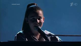 Shock! 10 year old girl from Russia sings Love the way you lie by Eminem & Rihanna