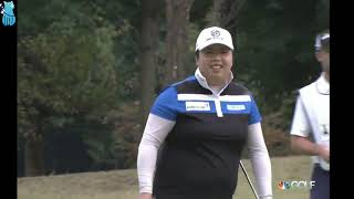 Shanshan Feng's Golf Shot Highlights 2017 Toto Japan Classic LPGA Tournament