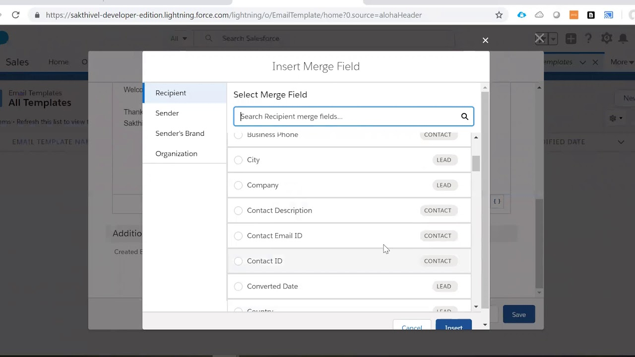 Create Lightning Email Template in Salesforce - YouTube
