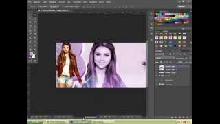 Tutorial Capa para facebook #2 - Selena Gomez
