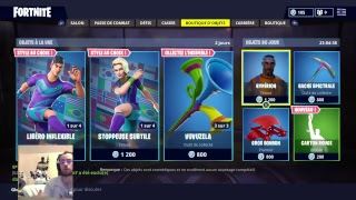 I BUY THE SKIN FOOT WITH YOU AT 2H BOUTIQUE FORTNITE FRIDAY 15/06/18