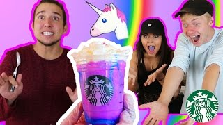 DIY UNICORN FRAPPUCCINO | Taste Test!!