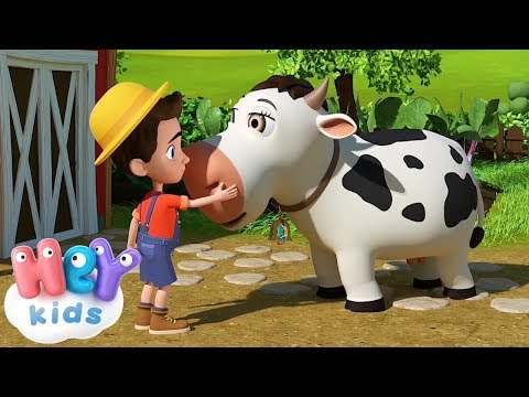 Cantec nou: The Cow Song for kids + many more nursery rhymes | HeyKids