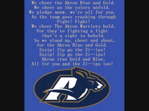 Akron Zips Fight Song
