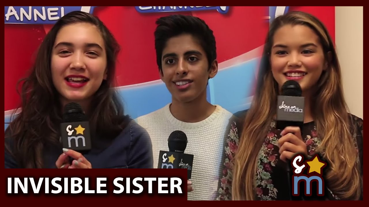Download INVISIBLE SISTER Cast Talks Favorite Scenes & Invisible Moments