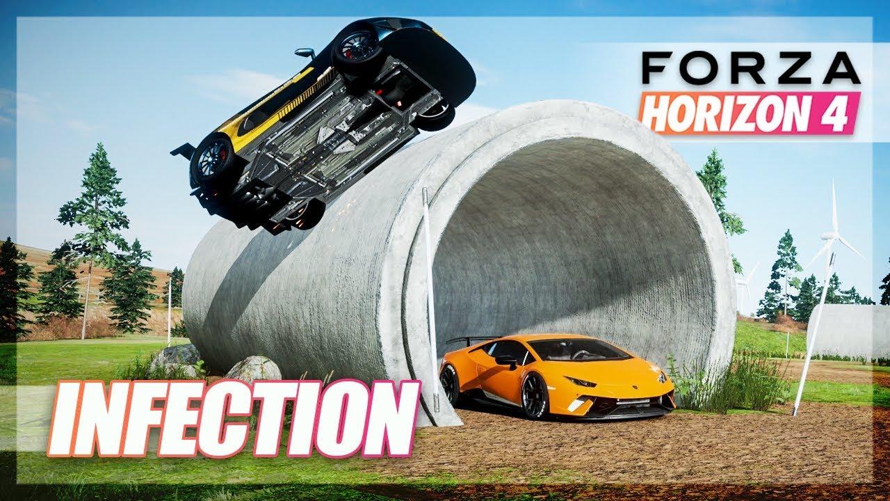 Forza Horizon 4 - Genius Hiding Tactics & More! Infection w/The Crew thumbnail