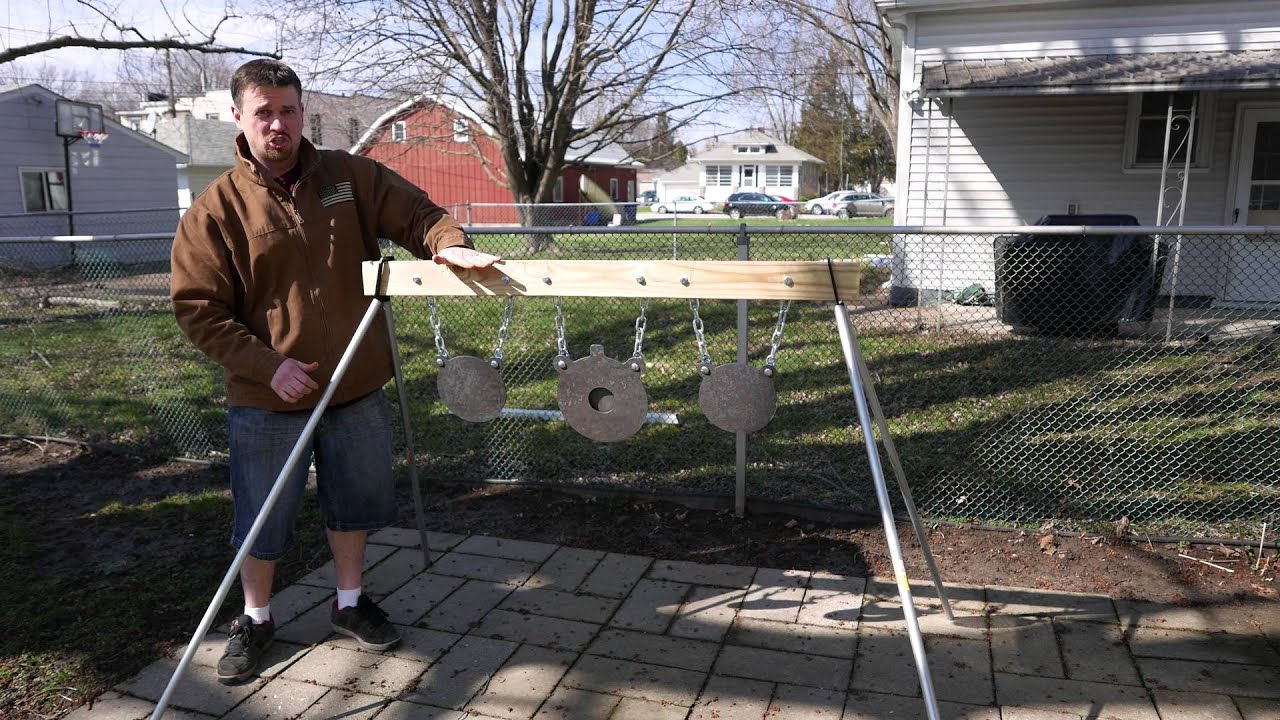 2x4 Portable Steel Target Stand