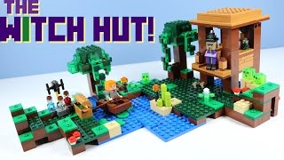LEGO Minecraft The Witch Hut 21133 with Small Slime!