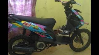 Download Video Video Modifikasi Motor Honda Matic Beat Tahun 2012 Ala Trail,Nembe Dipapungi MP3 3GP MP4